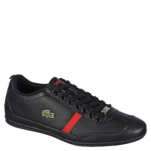 70bb714db38180 Lacoste Misano Sport Mag Mens Black Lifestyle Lace-Up