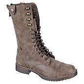 Women's Lace-Up Combat Boot VODOO