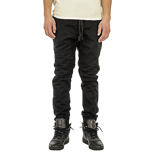 Smoke Rise Canvas Men 39 S Black Jogger Pants Shiekh Shoes