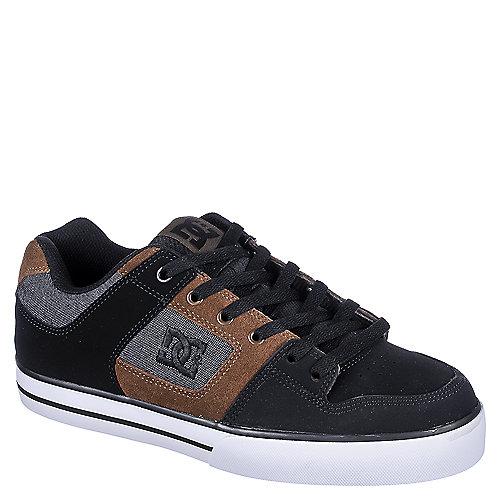 DC Shoes Pure SE Men s Black Brown Casual Lace-Up Shoes  f5981b97da