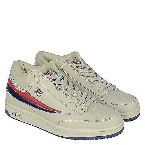 5309b127612f Fila Cream Men s T1 Mid Crm Sneaker