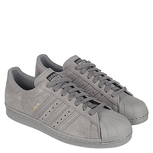 grey adidas superstar mens
