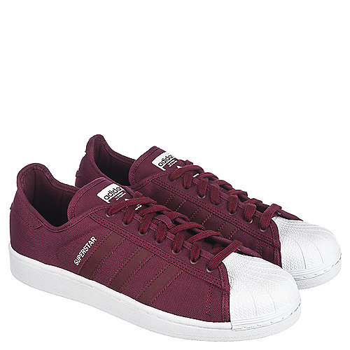 adidas superstar burgundy