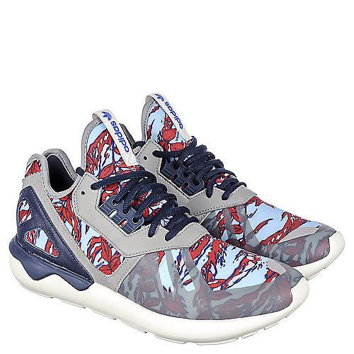 adidas. Red Blue Grey Navy Men s Tubular Runner Athletic Running Sneaker 04bbe261c