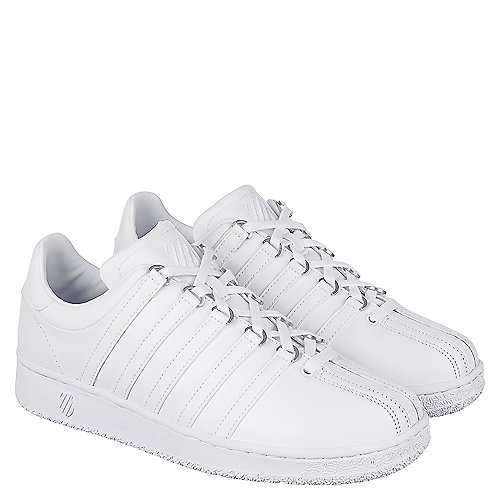 K-Swiss Classic VN Men s White Casual Lace Up Sneaker  b8611f77bf6