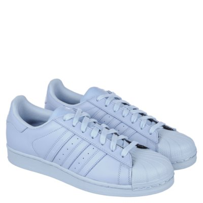 light blue adidas superstar