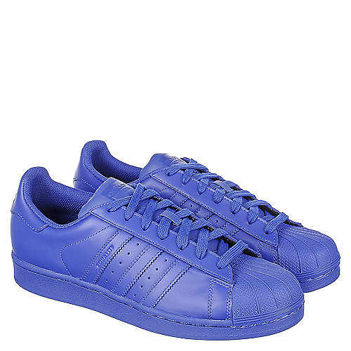 204325325f922 Adidas Pharrell Williams Superstar Supercolor Men s Blue Casual Lace ...
