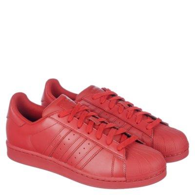 adidas superstar red pharrell