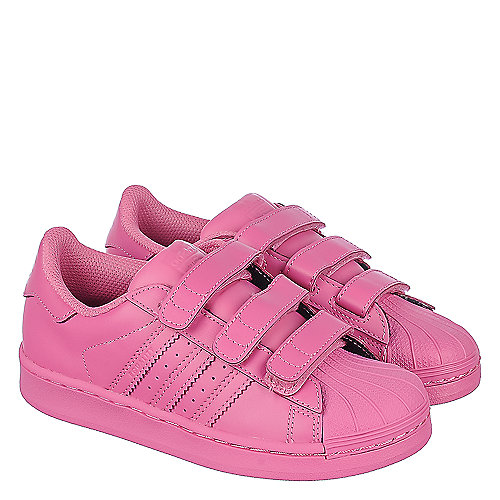 adidas Pharrell Williams Superstar Supercolor Youth Pink Sneaker ... 43fa0372472c