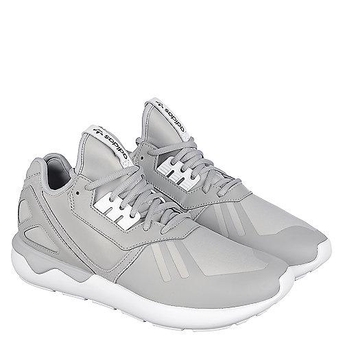 adidas. Grey White Men s Tubular Runner Athletic Running Sneaker b17c8cdcf