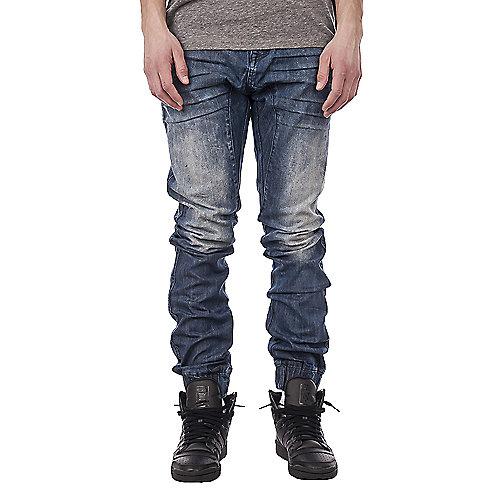 f40f127938e009 Jordan Craig Denim Blue Men s Slim Fit Denim Joggers
