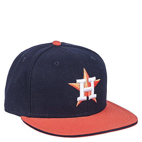 New Era Houston Astros Navy Fitted Cap  ad11ef64471