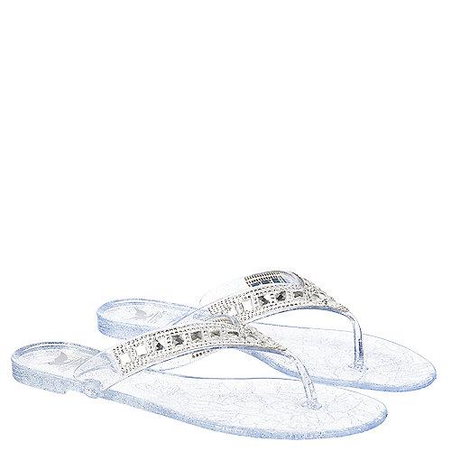 6f45c525710 Shiekh Hawaii-46 Women s Clear Thong Flip Flop Sandal