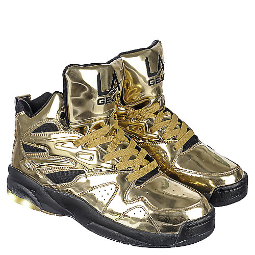 l a gear la lights s liquid gold athletic lifestyle