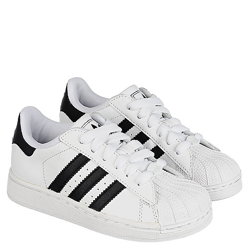 adidas superstar ii white black size 4