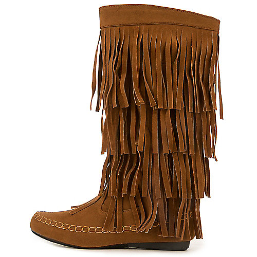 8efb9fcdd04e9 Women s Rust Fringe Pocket Boot Mudd-55