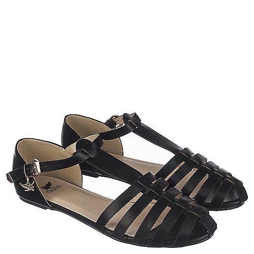 Shiekh Jarrow S Women S Black Casual Flat Shoe Shiekh Shoes