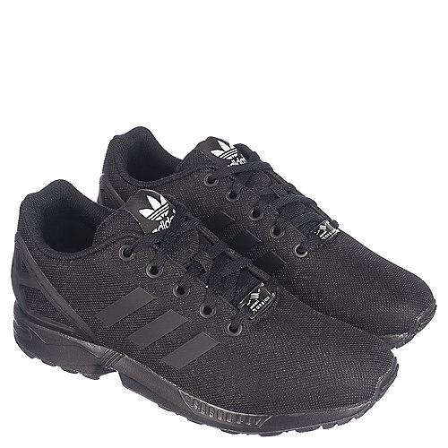 260caf9ad8d7 adidas ZX Flux Youth Black Sneaker