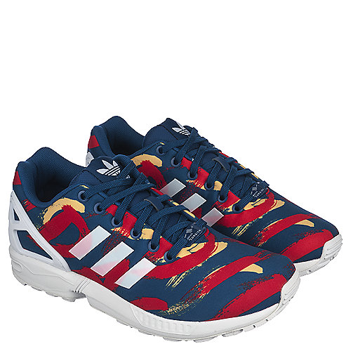 adidas. Blue Multi Women s Athletic Running Sneaker ZX Flux 1ede73afda