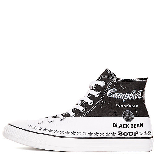 98e0665942b13c Converse Andy Warhol CT Hi Unisex Black Casual Lace-up Sneaker ...