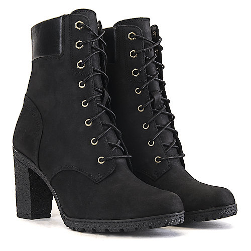 Timberland Glancy 6 IN Women's Black Low Heel Ankle Boots | Shiekh ...