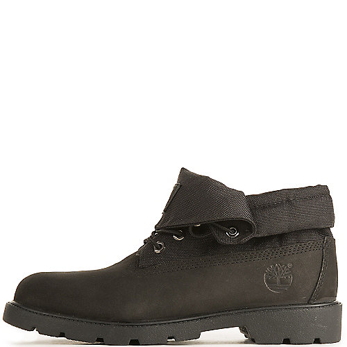 Timberland Roll Top Juniors Black Casual Boots  3a11644f147