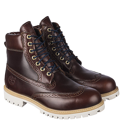 Timberland 6 IN Prem Men\'s Brown Casual Lace Up Boots | Shiekh Shoes