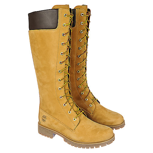 Timberland Premium 14 IN Zip Women s Wheat Mid-Calf Boot  17488d23a2
