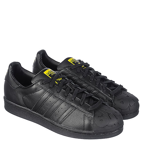 adidas Superstar Pharrell Supershell Men s Black Casual Lace-Up ... a80c56f54
