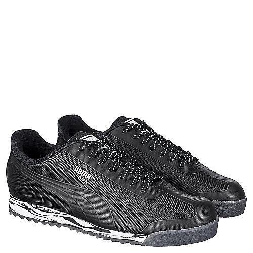 Puma Roma TPU Kurim Men s Black Casual Lace-Up Shoes  6bca8e14b