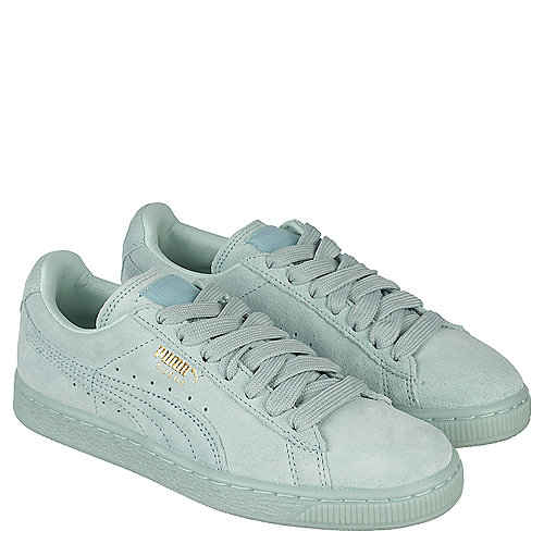 Puma Suede Classic + Mono ICE Men s Teal Casual Lace-up Shoe ... 40631c76f8