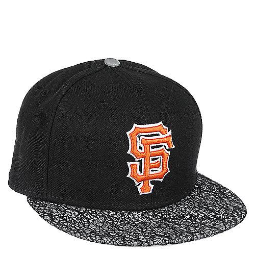d784b1d6d4fb4 New Era San Francisco Giants Black Fitted Cap