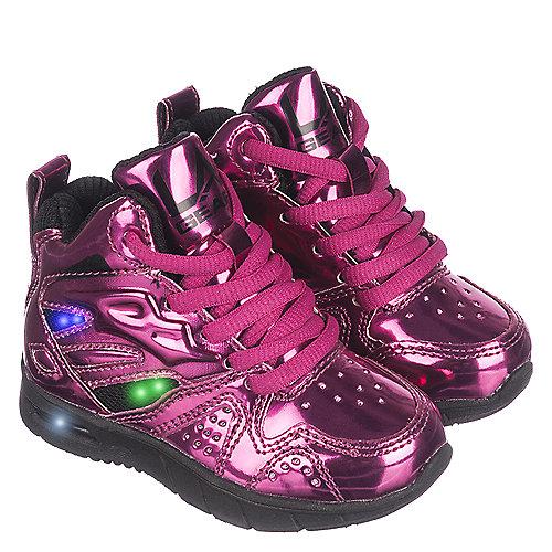 la gear l a lights toddler pink sneaker shiekh shoes
