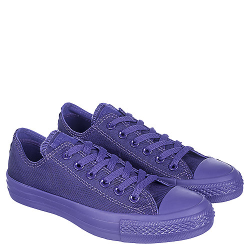 Converse CT OX Unisex Purple Casual Lace-Up Sneakers  85346f83f7c7