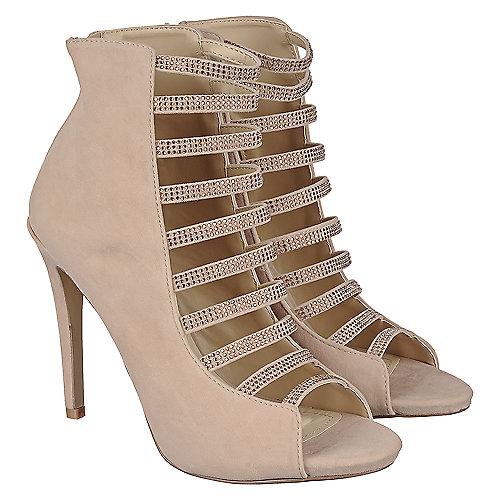ed7794b3f08e Anne Michelle Perton-84 Women s Nude High Heel Dress Shoe