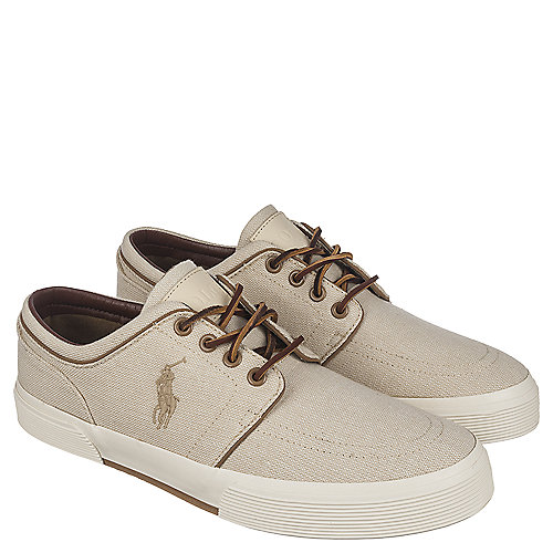Lace Low Casual Up Faxon Khaki Polo Sneaker Ralph Lauren Men's tqYw0HZ