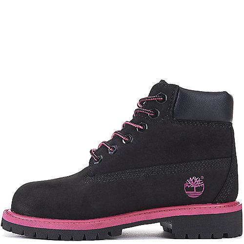 Timberland Black Pink Toddler s 6-inch Premium Waterproof Boot 20bbd42cbd