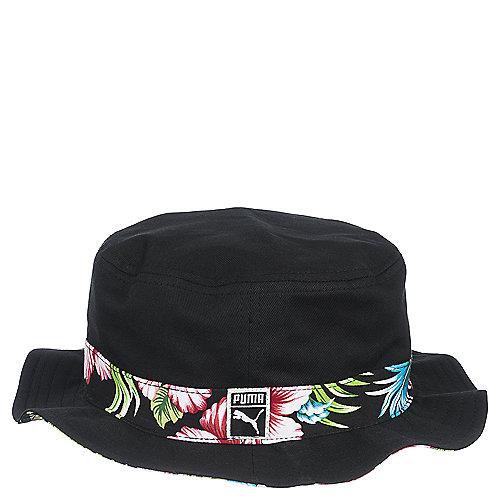 Puma Tropifloral Men s Black Bucket Hat  68d17630b33