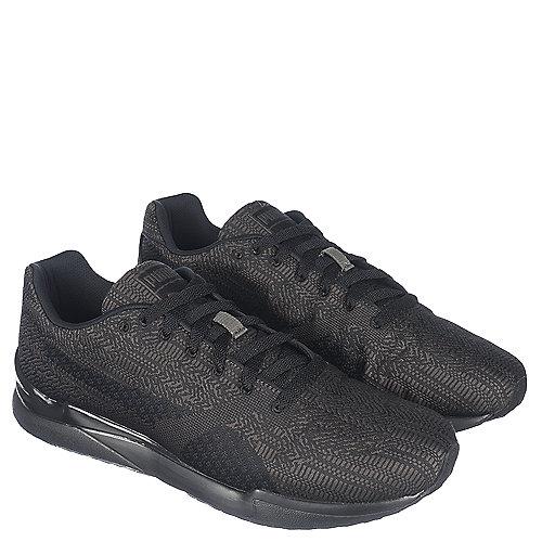 Puma Xs500 Woven Men s Black Casual Lace Up Sneaker  7f8c1da85
