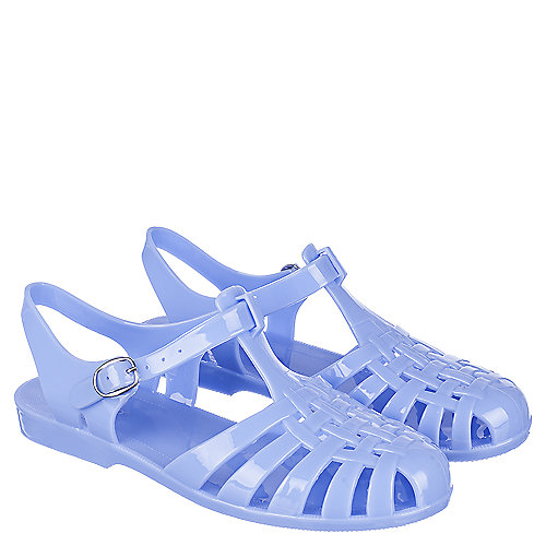 19ec0e6d312c Bamboo Amira-01 Women s Blue Jelly Sandals