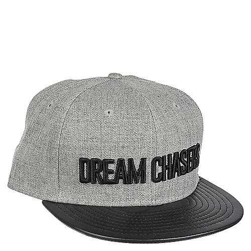 Dream Chasers The Dream Bold Men s Grey Snapback Hat  1f7080b4974