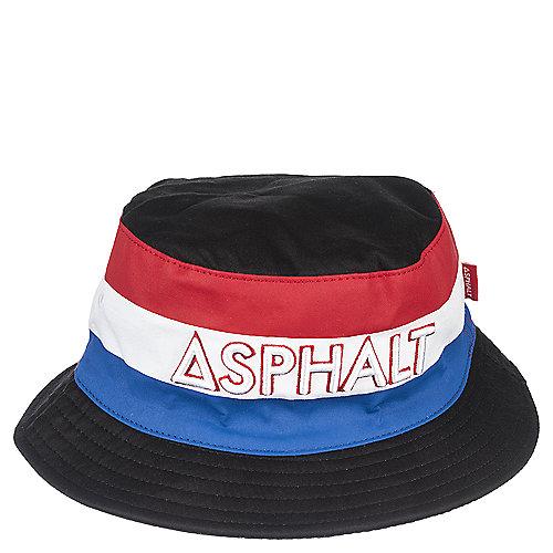 936d822314e Asphalt Black Blue Red White Bucket Hat