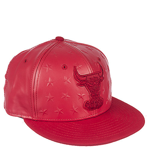 New Era Chicago Bulls Red Fitted Cap  05a9c11f770