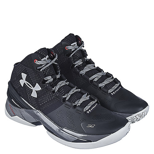 Black Grey Red Men s Athletic Basketball Sneaker Curry 2 43e711cae