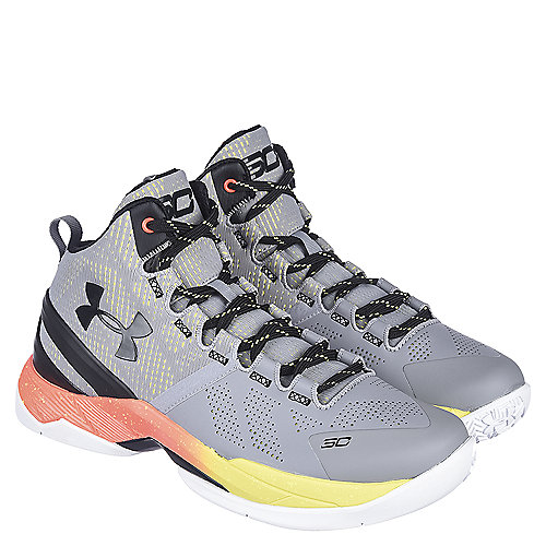 abd21583c985 Youth Basketball Sneaker Curry 2 Grey