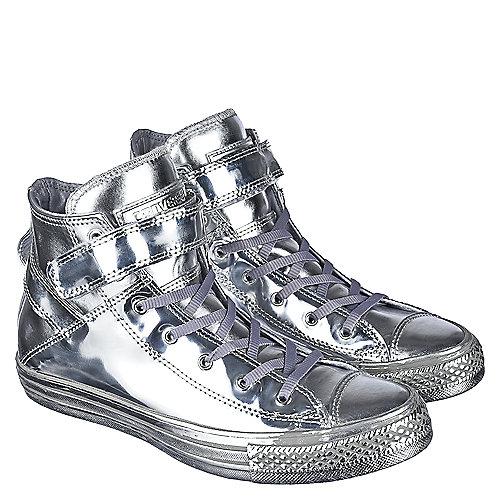 cb1e39c5f2f0 Converse Silver Women s Casual Sneaker Chuck Taylor All Star Brea