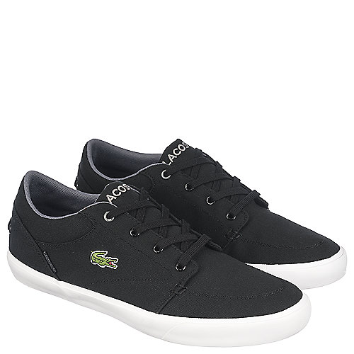 Inexpensive Lacoste for Men Bayliss Vulcanised Premium Black Sneakers 6587835