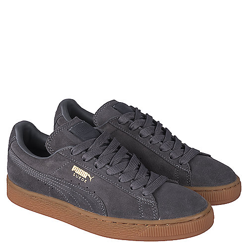 bf623b6dc57 Puma Grey Youth Casual Sneaker Suede Winter Gum