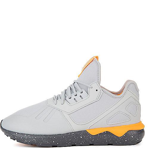 e643e06b0d40 adidas. Grey Yellow White Men s Tubular Runner Athletic Running Sneaker