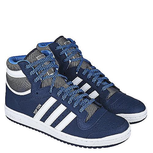 low priced 135b5 88d73 adidas. Navy White Men s Athletic Lifestyle Sneaker Top Ten Hi